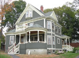 Stately Victorian house color pictures