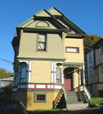 Victorian california house colors
