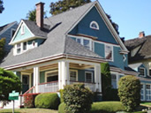 Seattle Victorian house color pictures