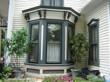 Italianate Bay window colors