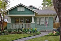 Arts and Crafts bungalow color scheme