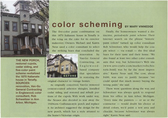Color Scheming by Robert Schweitzer