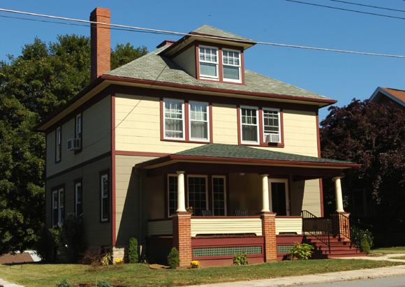 Foursquare Makeover Historic House Colors
