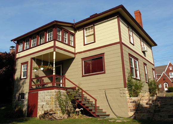 Historical Foursquare House Plan 31512gf
