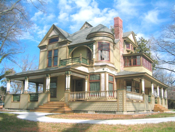 Victorian Queen Anne - Hickory History Center - Historic House Colors
