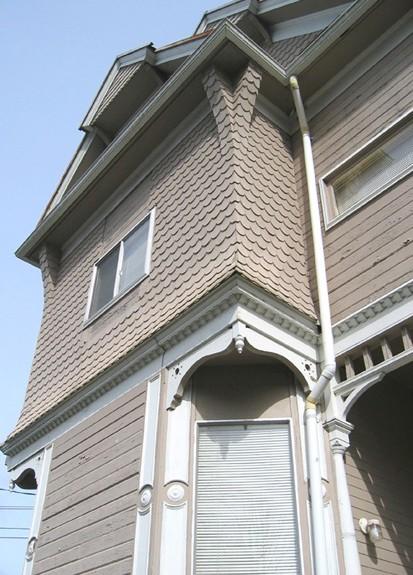 Victorian Queen Anne Astoria Oregon Remodel Historic