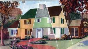Glidden Age Of Color Brochure Historic House Colors