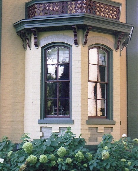 Italianate Victorian Historic House Colors