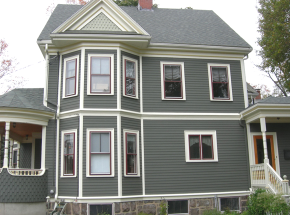 Stately Victorian Queen Anne - Historic House Colors