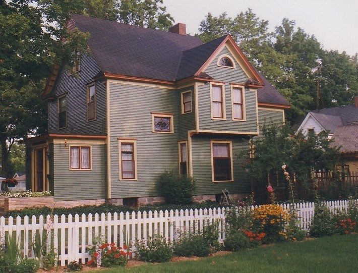 House Before New Colors