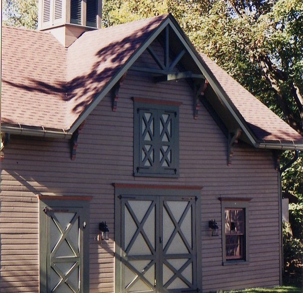 Victorian Carriage House: Early New Jersey Victorian