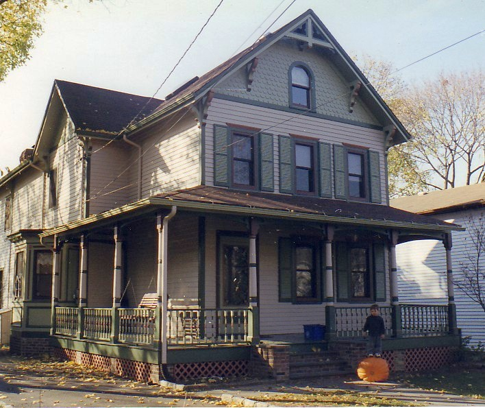 Early New Jersey Victorian Historic House Colors