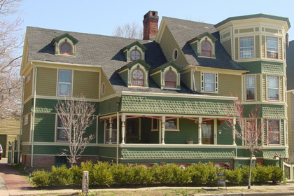 White to Bright Victorian - Historic House Colors