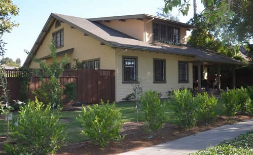 California Craftsman Bungalow Historic House Colors