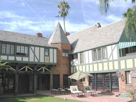 Movie Star Tudor Historic House Colors