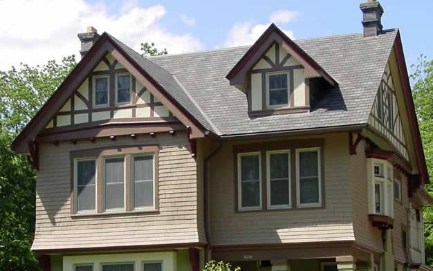 English Revival Reborn Historic House Colors