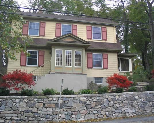 1928 Dutch Colonial Revival Historic House Colors