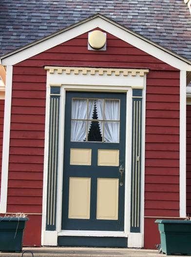 Retro Rural Cape Cod Historic House Colors