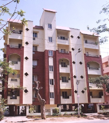 India apartment building 2