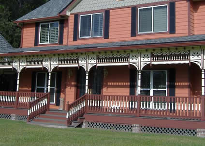 New Victorian porch colors