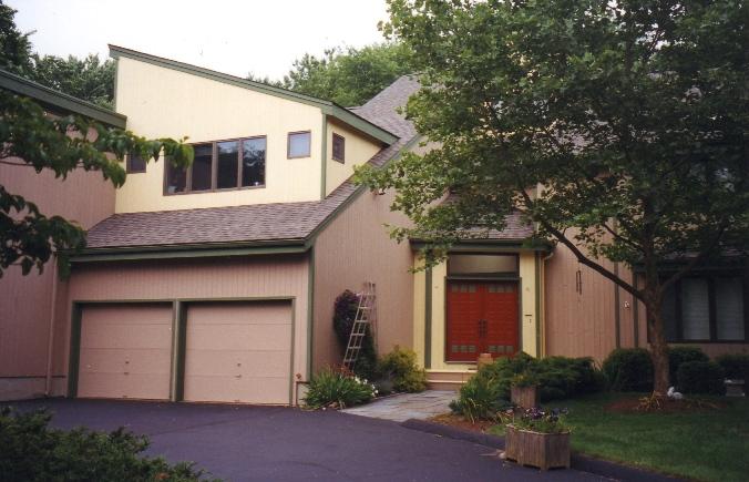 Orange, CT - Contemporary Home - Historic House Colors
