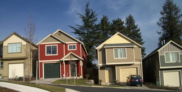 Portland subdivision colors