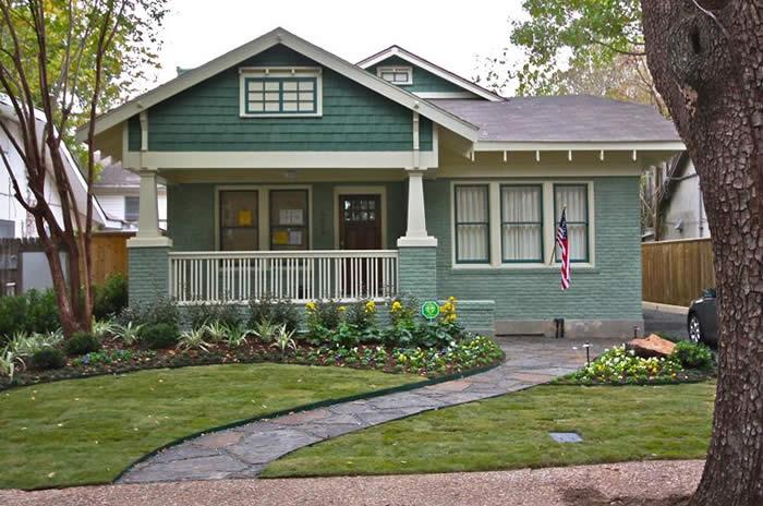 2012 bungalow historic house colors for Bungalow paint schemes
