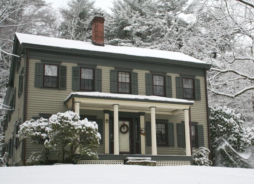 19th Century Pre-Civil War - Historic House Colors