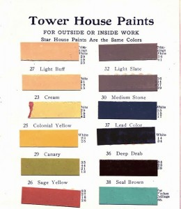Tower paints page