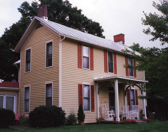 Federal Style Farm House Historic House Colors