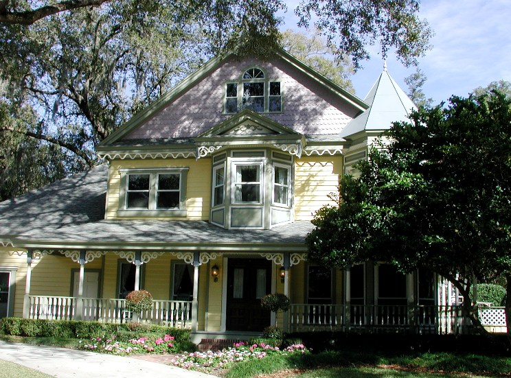 New Construction Victorian Revival In Florida Historic