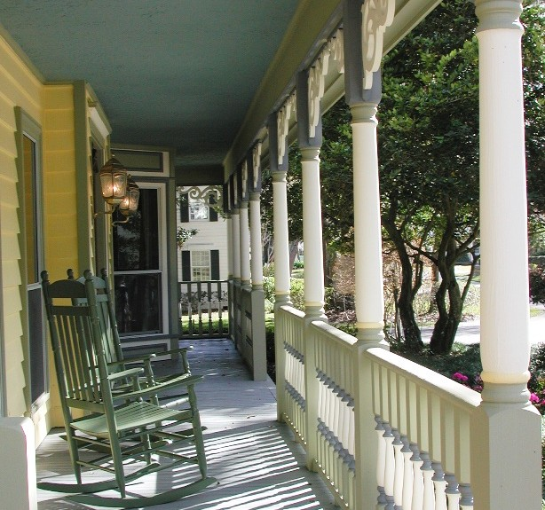 New Victorian Porch overview