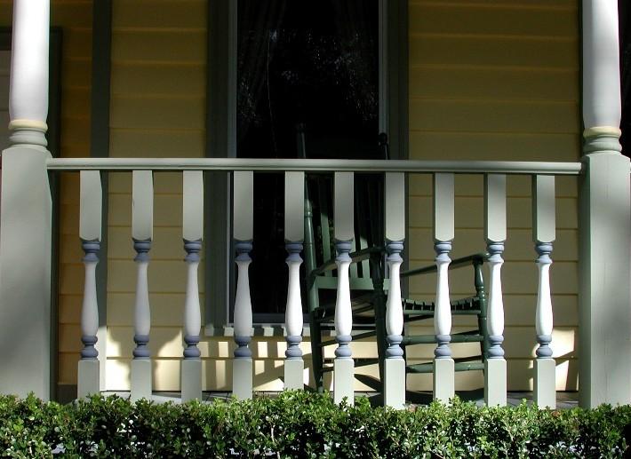 New Victorian colors - porch detail
