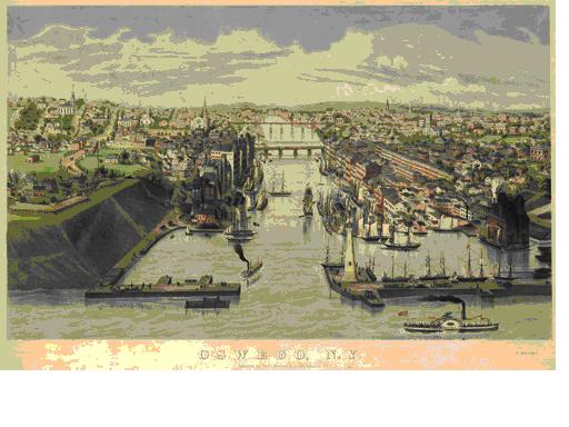 Postcard of Oswego NY