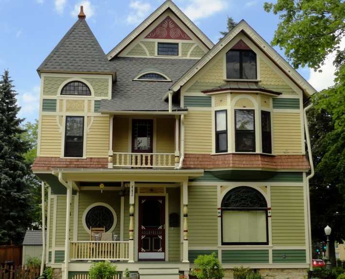 chicago award winner historic house colors