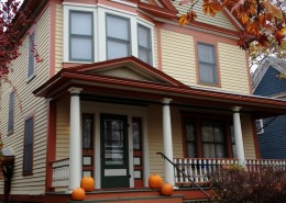 Victorian home new colors