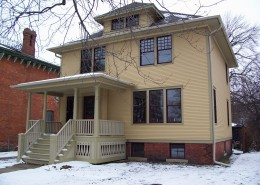 American Foursquare historic colors