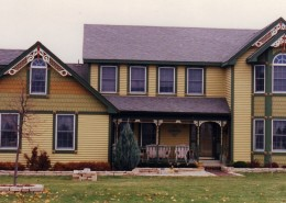 Modern Late 20th Century Historic House Colors