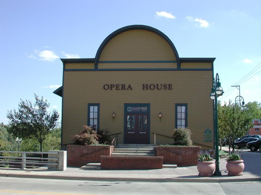 Opera house colors