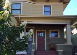 Foursquare home in Seattle with new period colors