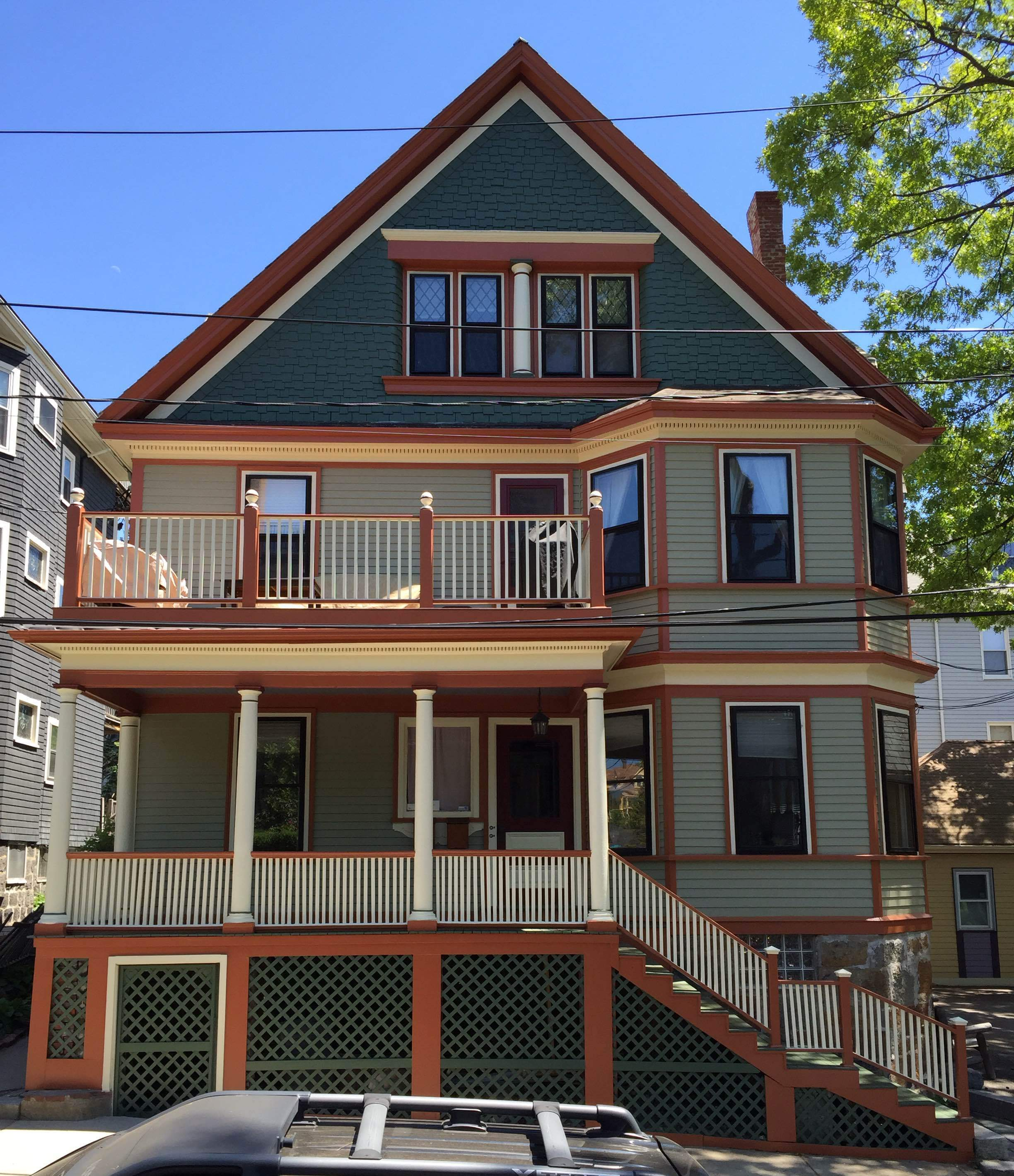 historic exterior paint colorsJamaica Plain Historic Colors  Historic House Colors