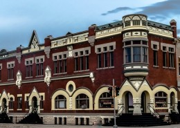 Victorian Commerical building in Concordia, Kansas