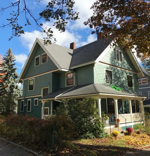 House Colors: Queen Anne Seattle, Wawhington