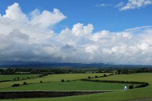 Irish green landacape