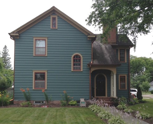 award winning home in fargo north carolina - Historic House Colors