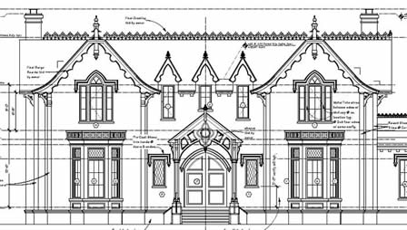 New Gothic Revival Historic House Colors
